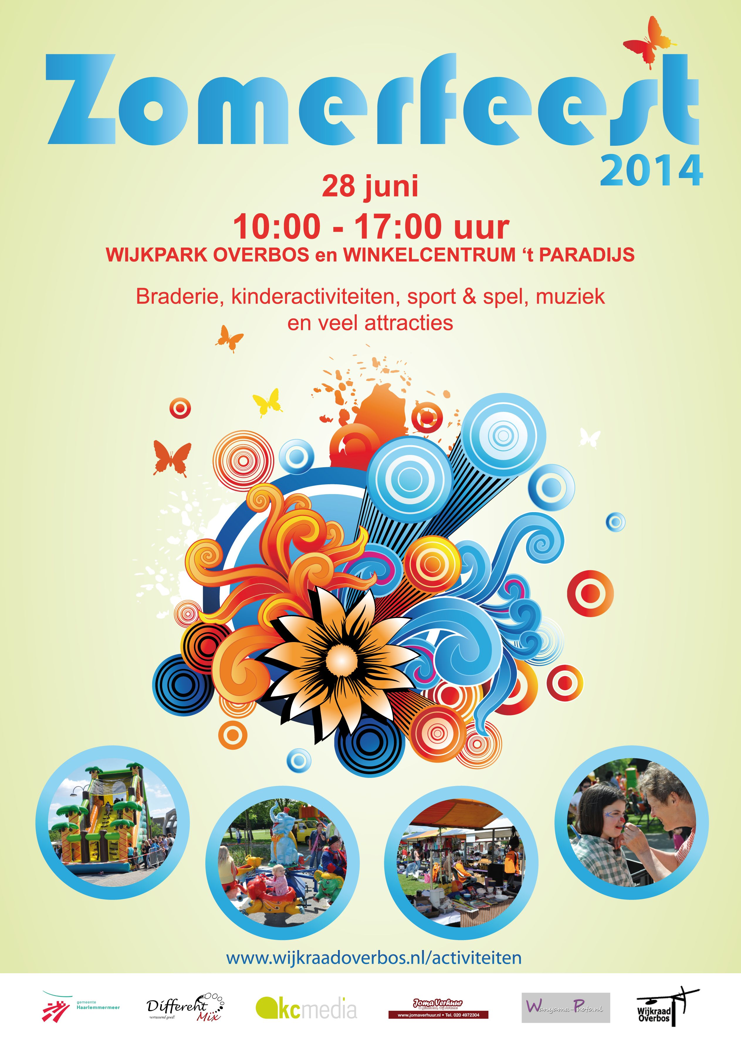 Flyer zomerfeest 2014